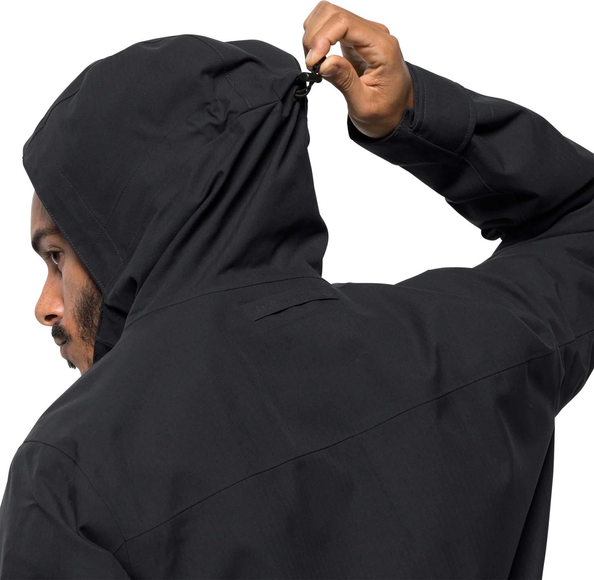 new product 22f7c 874e0 Jack Wolfskin West Coast Jacke Herren black